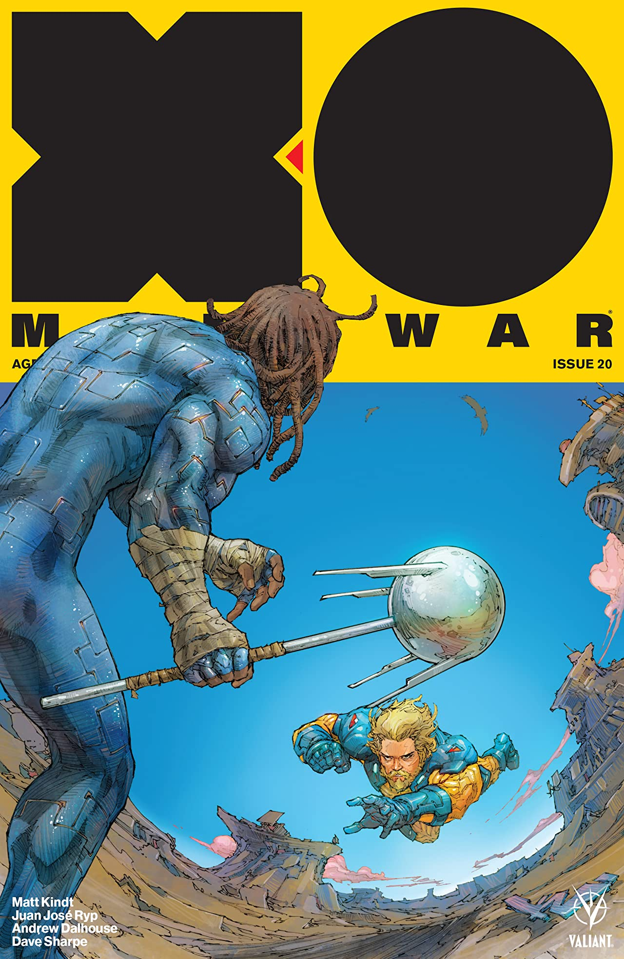 X-O Manowar (2017) No.20