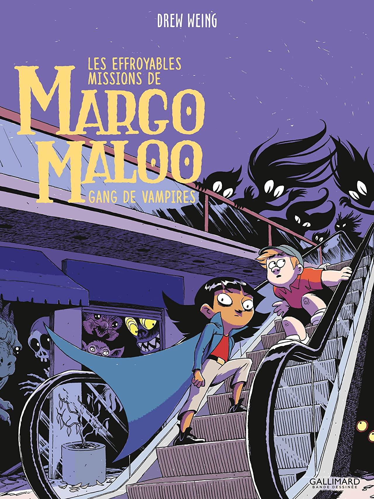 Les Effroyables Missions de Margo Maloo (Tome 2) Vol. 2: Gang of Vampires