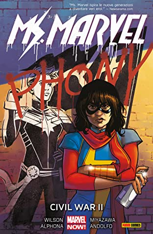 Ms. Marvel Vol. 6: Civil War II