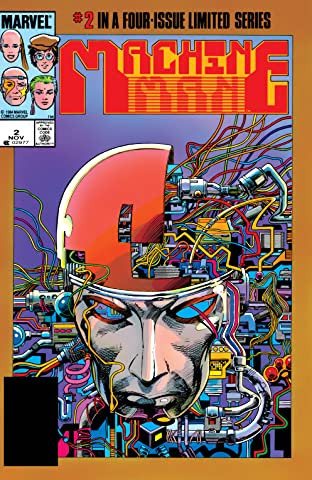 Machine Man (1984-1985) #2