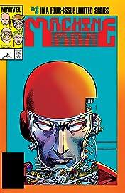 Machine Man (1984-1985) #3