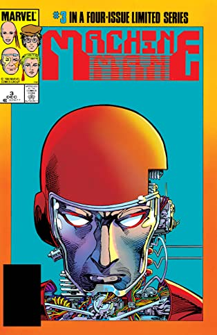 Machine Man (1984-1985) #3