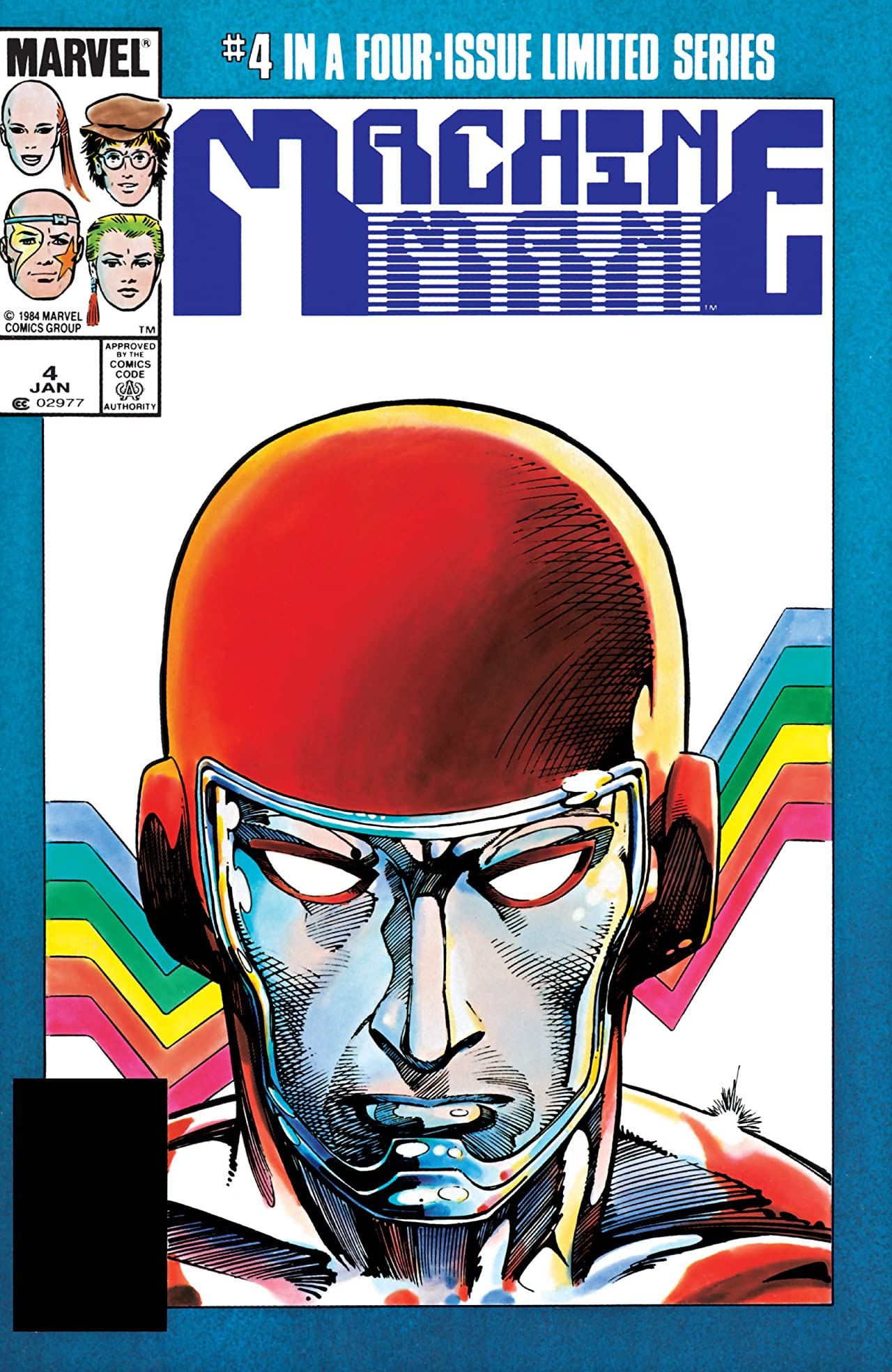 Machine Man (1984-1985) #4