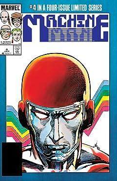 Machine Man (1984-1985) #4