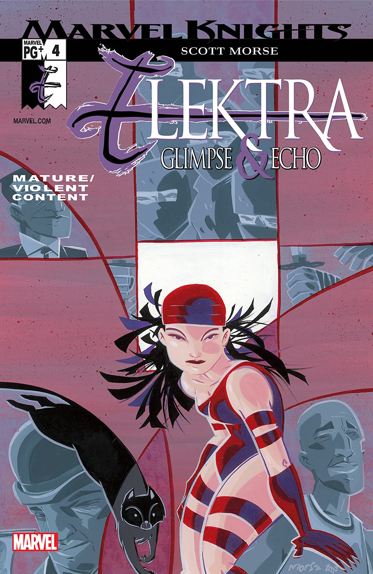 Elektra: Glimpse and Echo (2002) #4