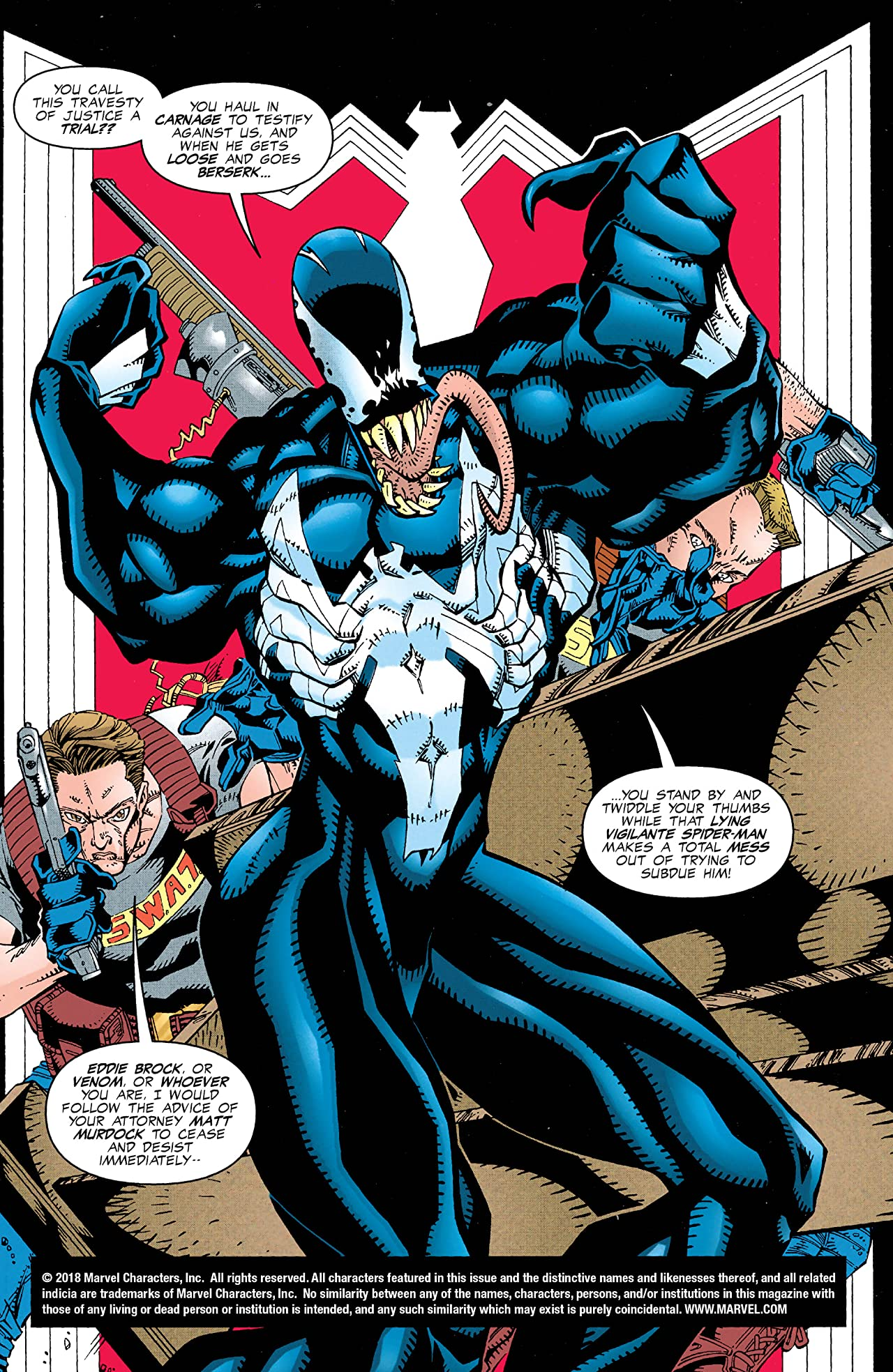 Venom: On Trial (1997) #3