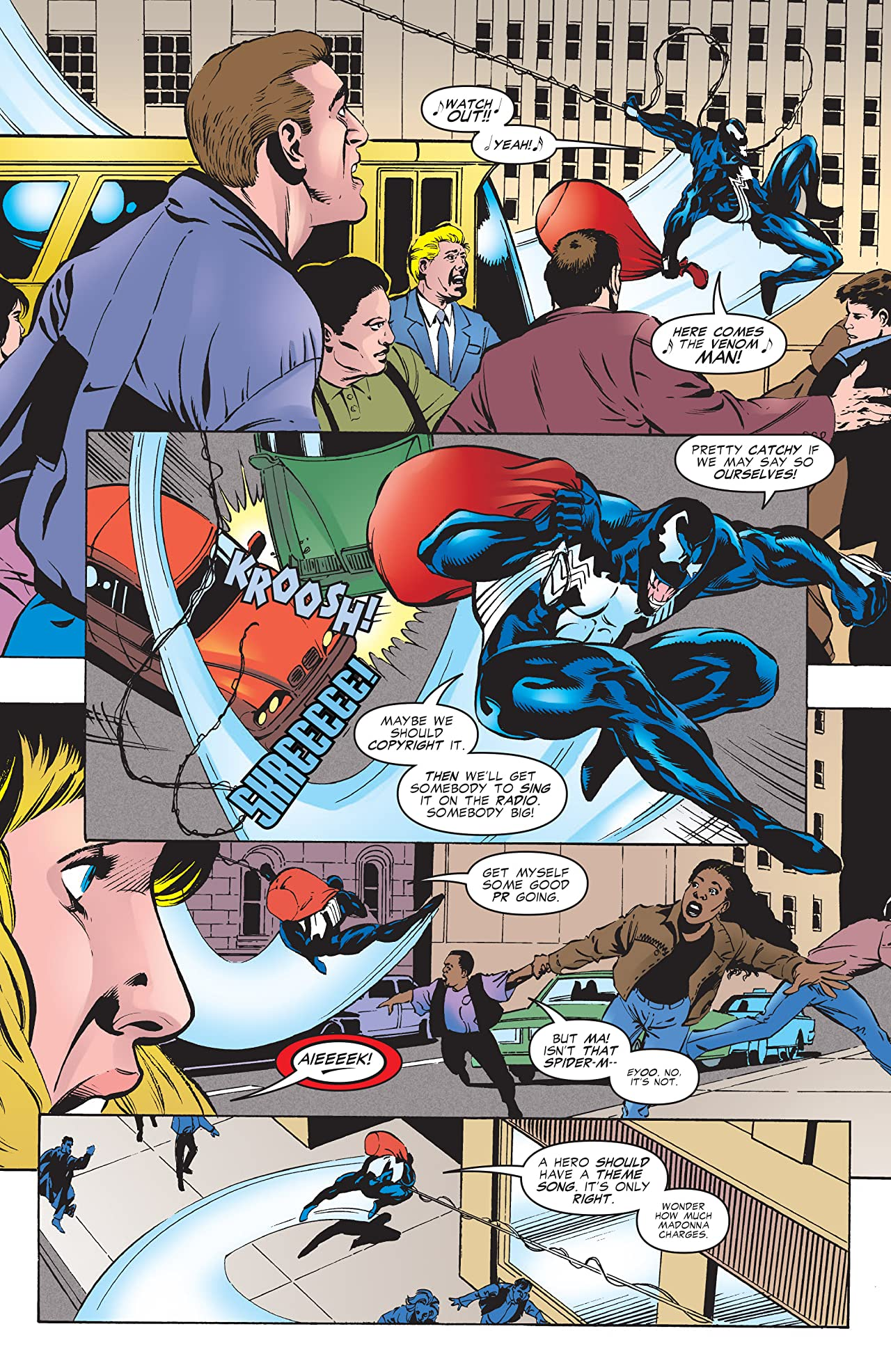 Venom: Sign of the Boss (1997) #1