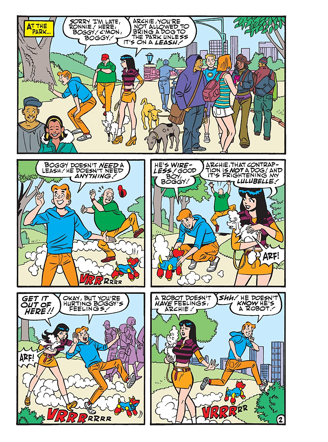Archie Double Digest #292