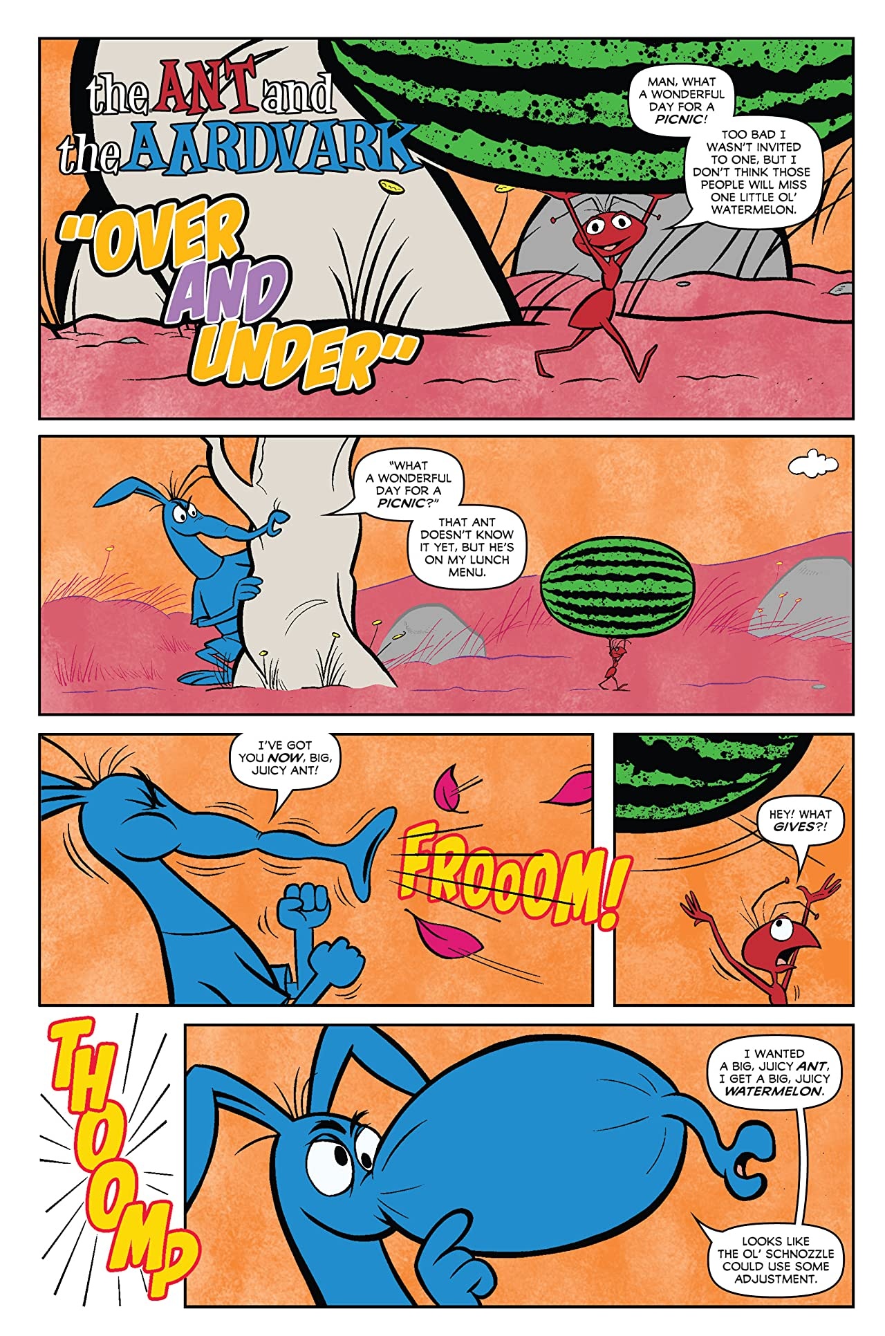 Pink Panther Presents: The Ant & The Aardvark #1