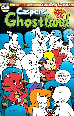 Casper's Ghostland #1: The 100th Issue