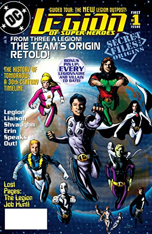 Legion of Super Heroes (1989-2000) Secret Files #1