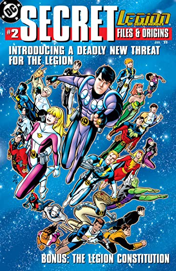 Legion of Super Heroes (1989-2000) Secret Files #2