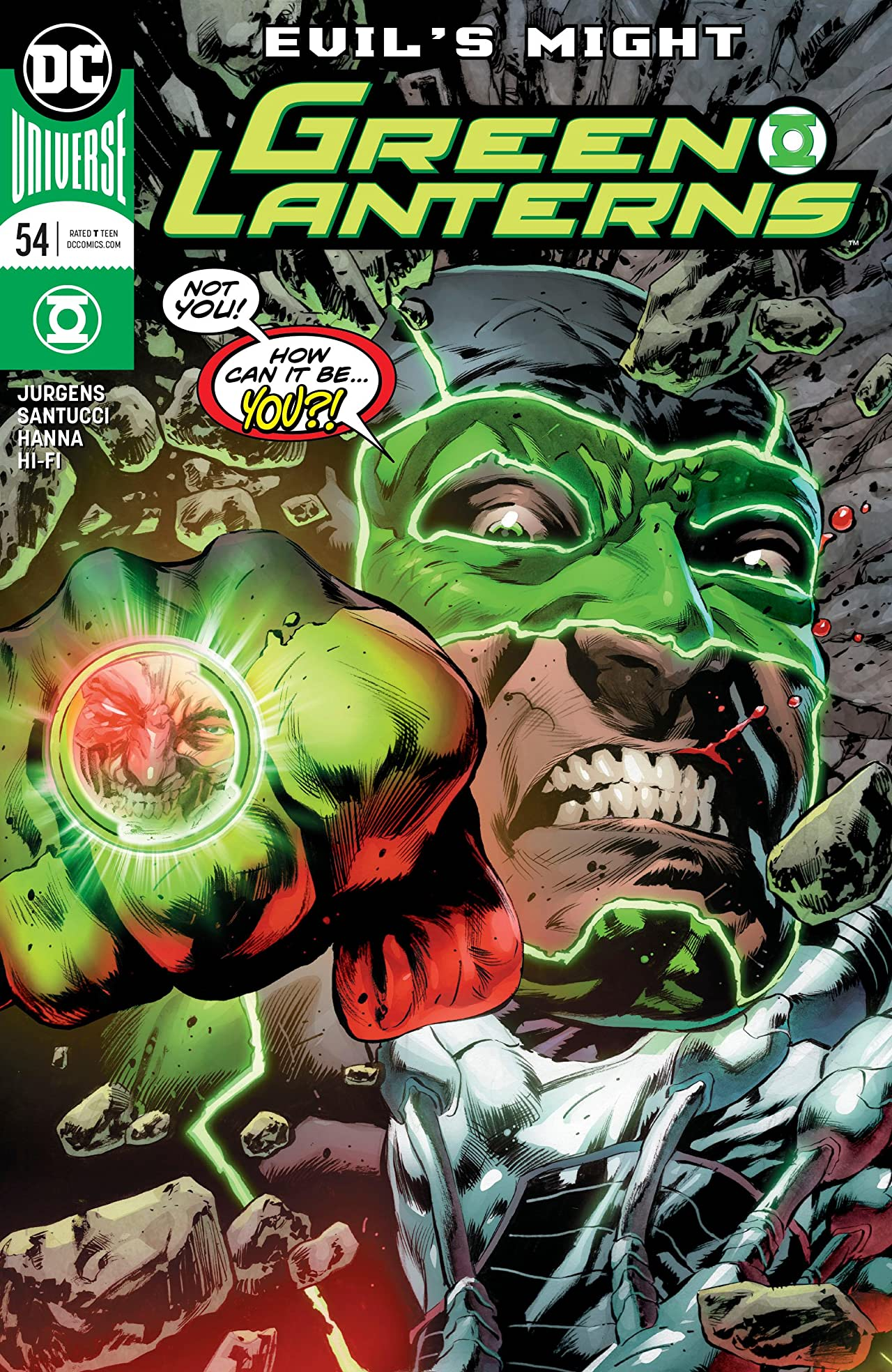 Green Lanterns (2016-) No.54