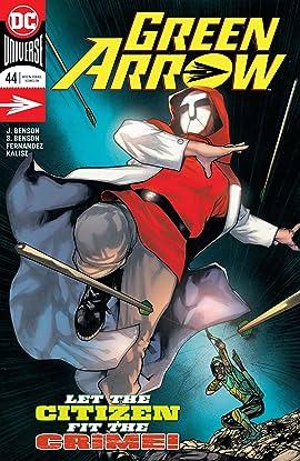 Green Arrow (2016-2019) #44