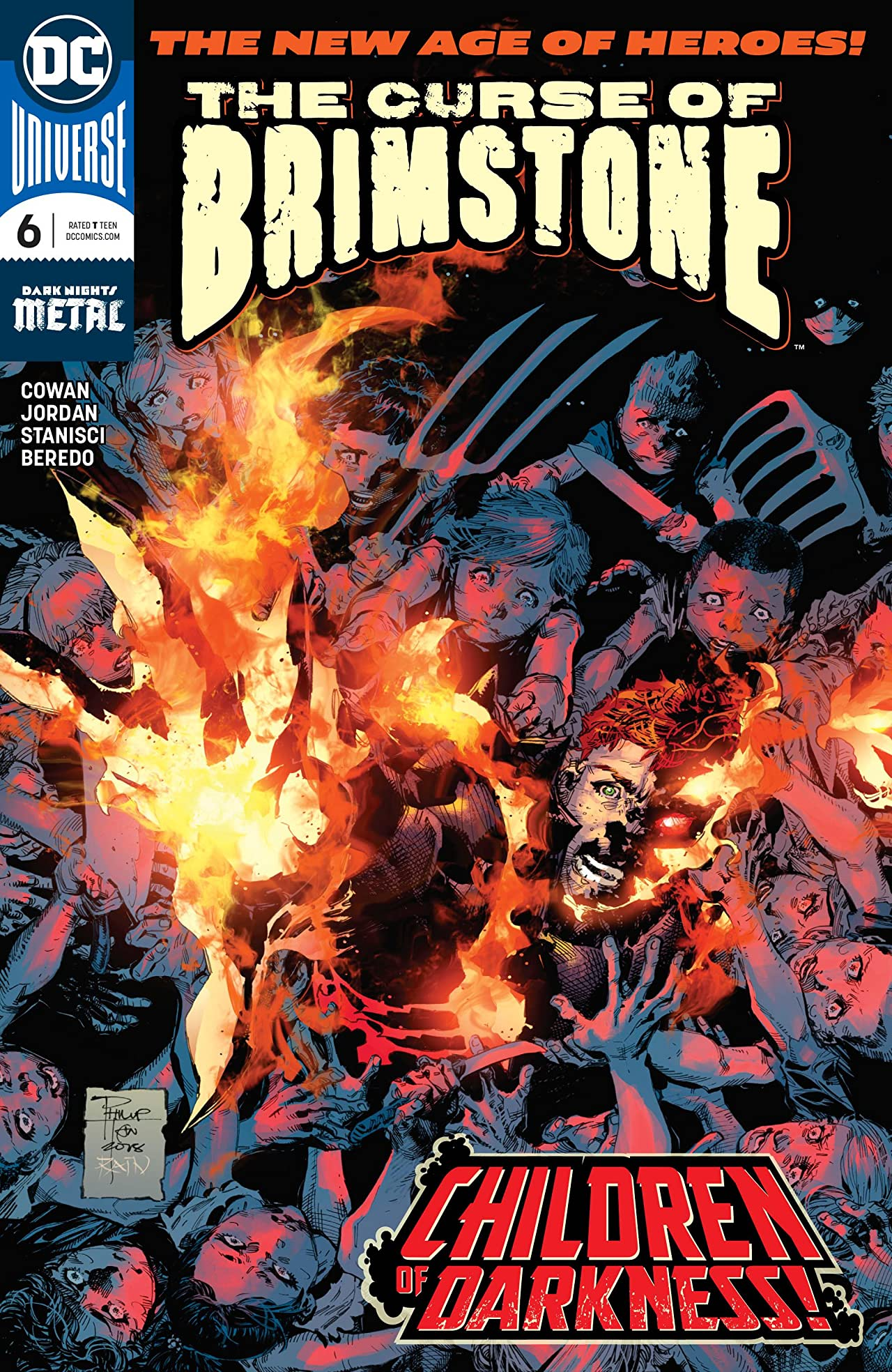 The Curse of Brimstone (2018-) No.6