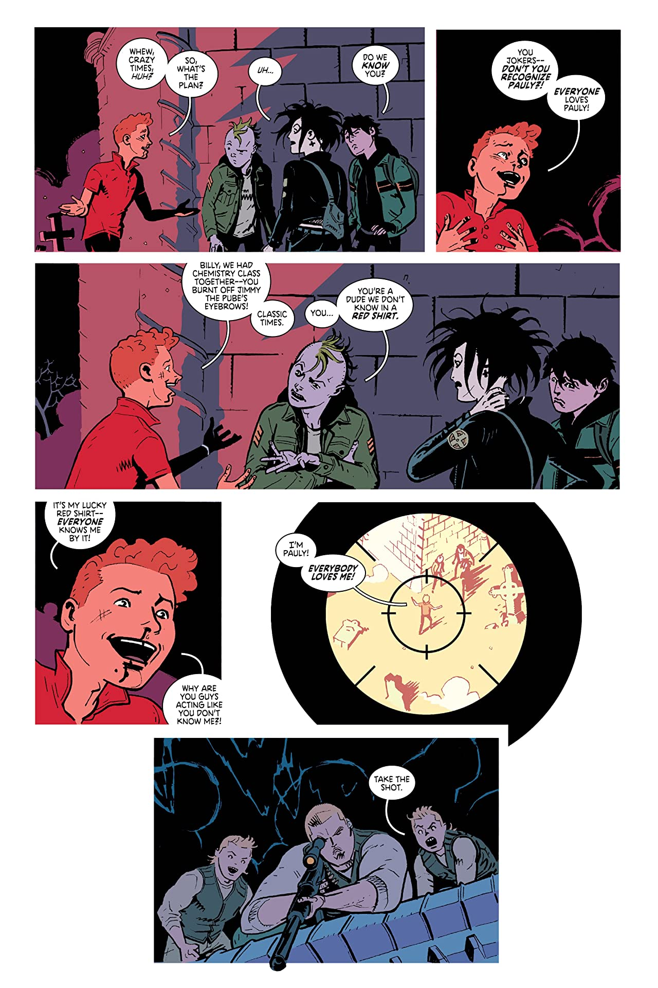 Deadly Class: Book Two - The Funeral Party