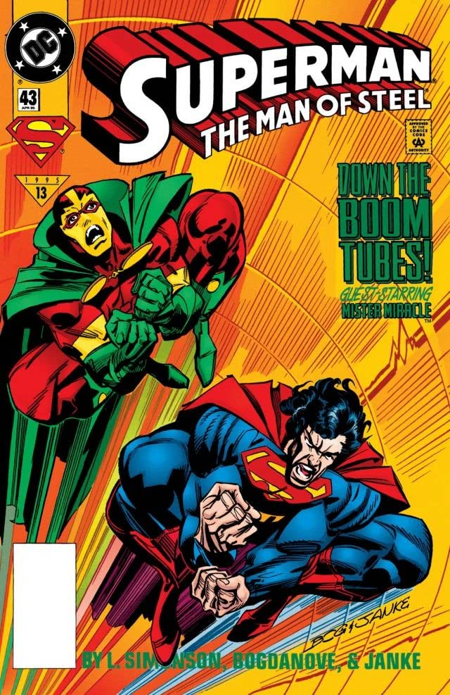Superman: The Man of Steel (1991-2003) #43