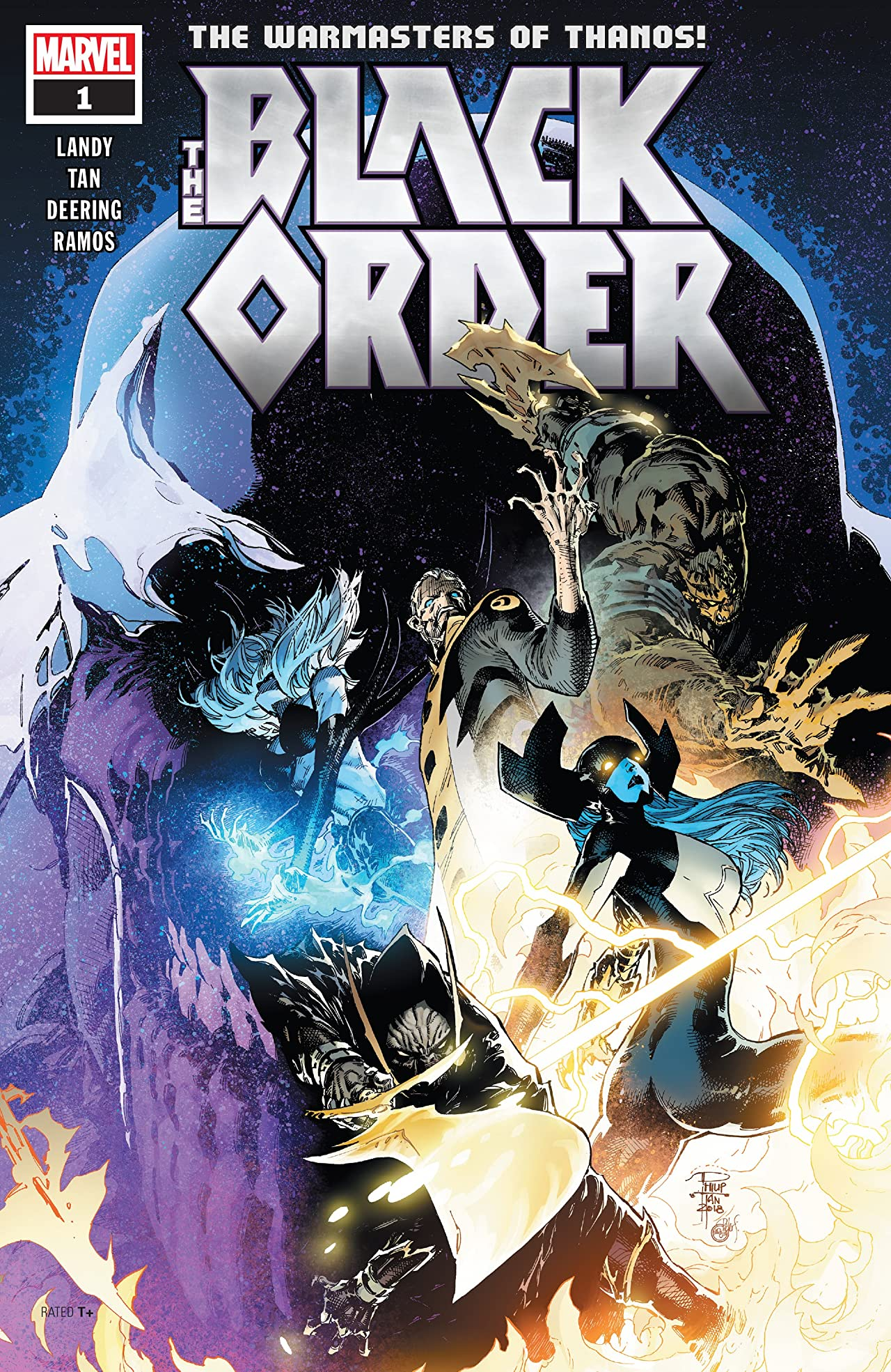 Black Order (2018-) No.1 (sur 5)