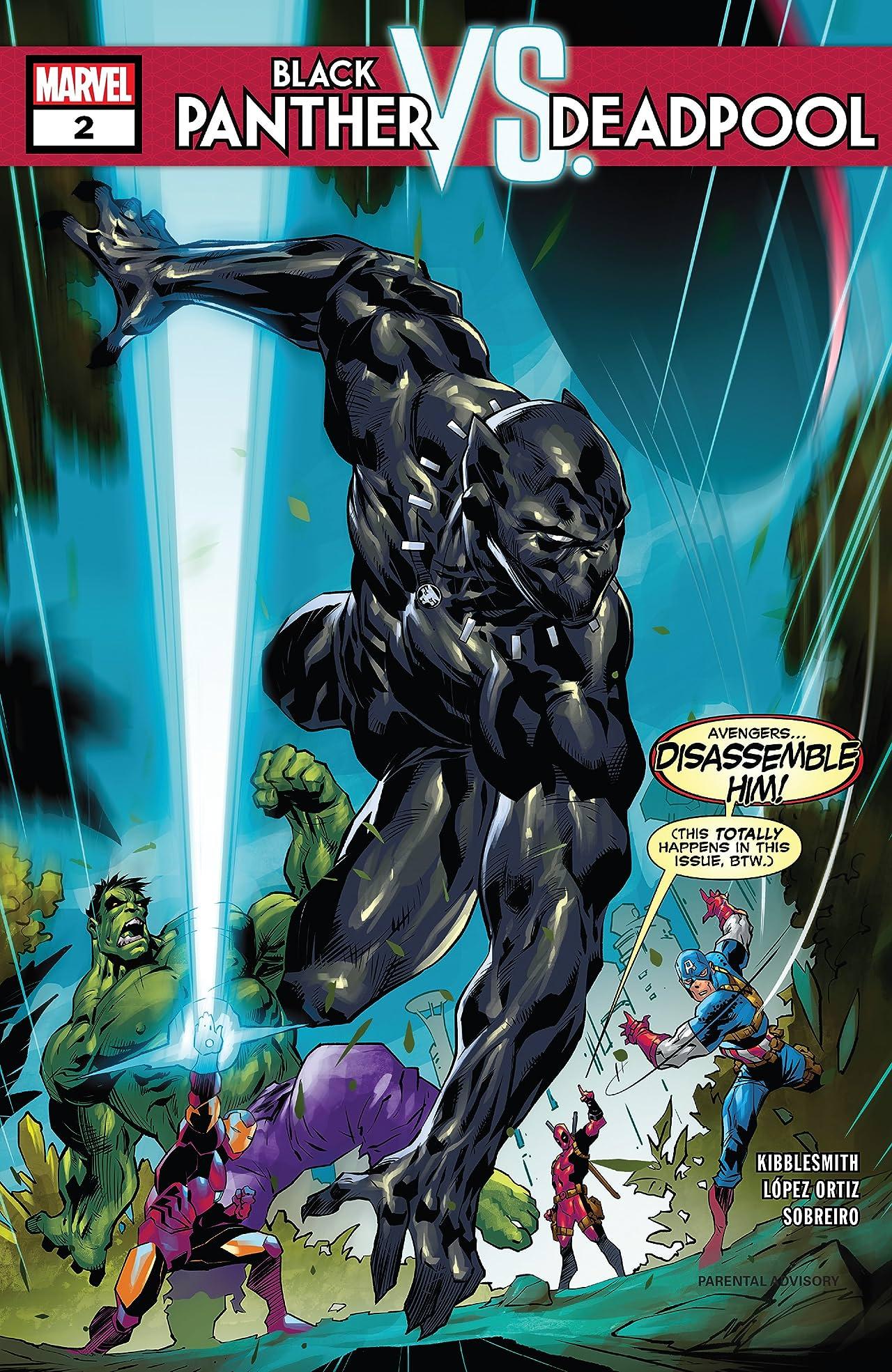Black Panther vs. Deadpool (2018-2019) #2 (of 5)