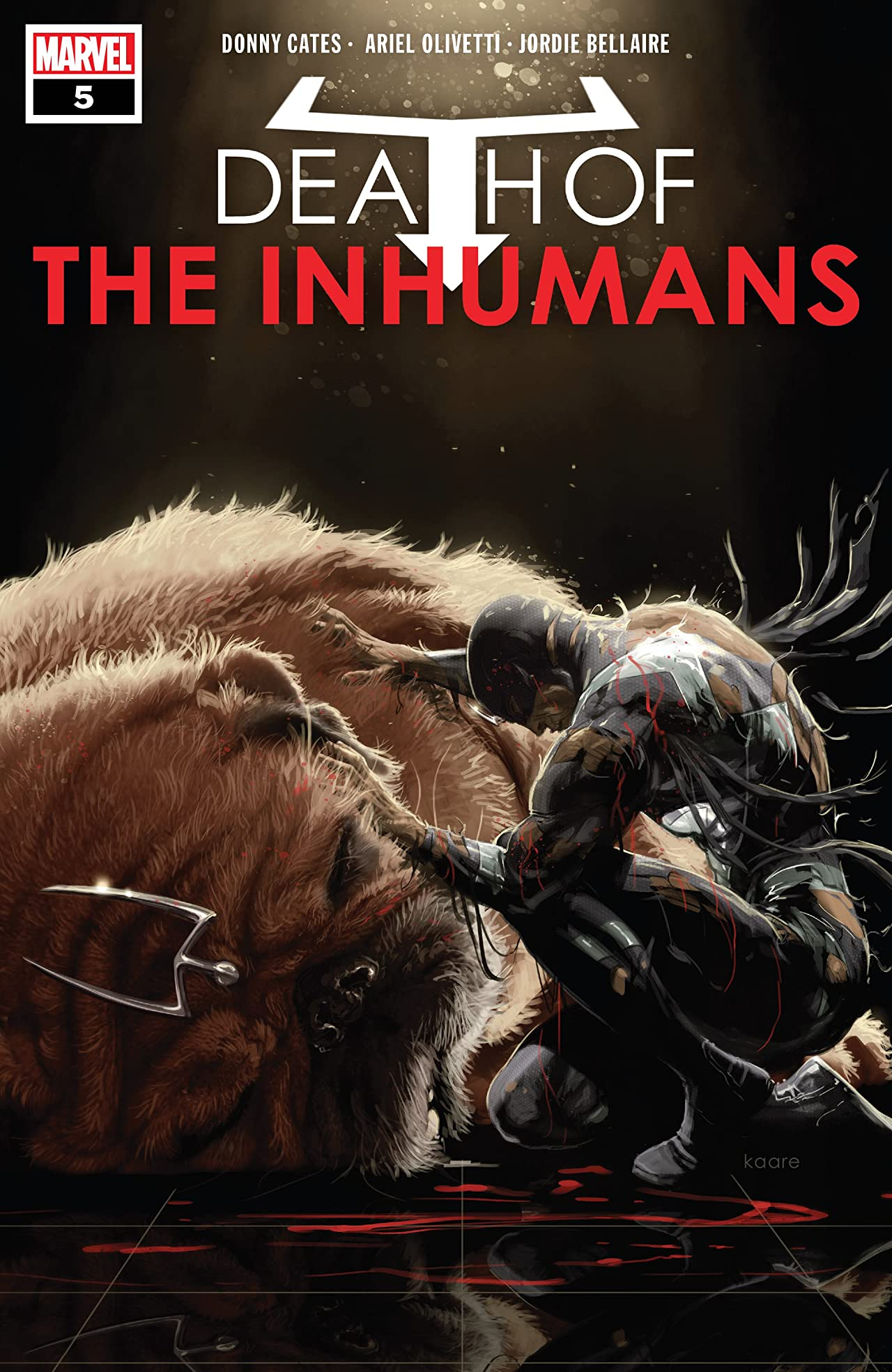 Death Of The Inhumans (2018) No.5 (sur 5)