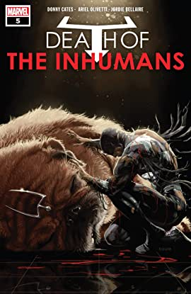 Death Of The Inhumans (2018) #5 (of 5)