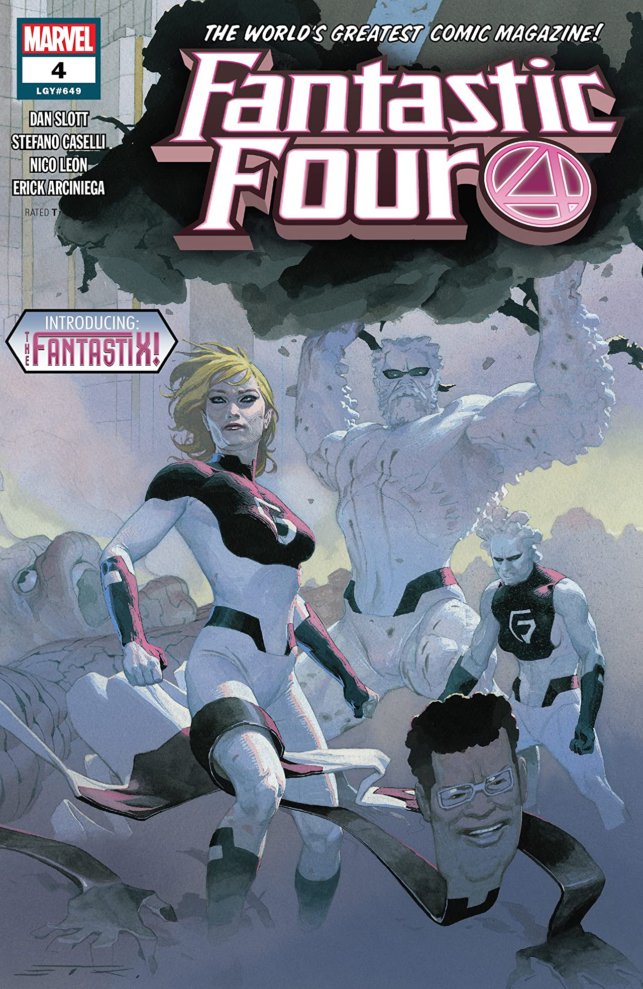 Fantastic Four (2018) - Tomes : 2,3,4
