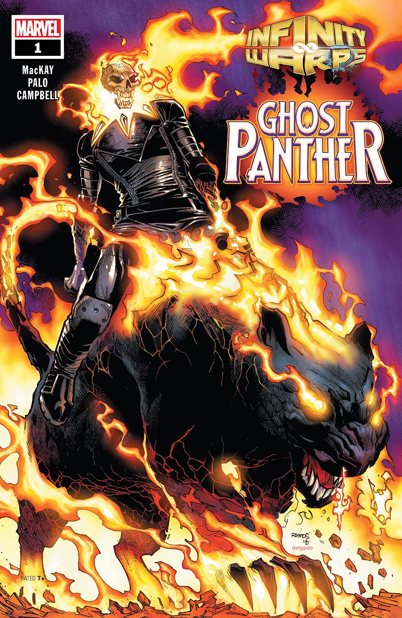 Infinity Wars: Ghost Panther (2018) No.1 (sur 2)