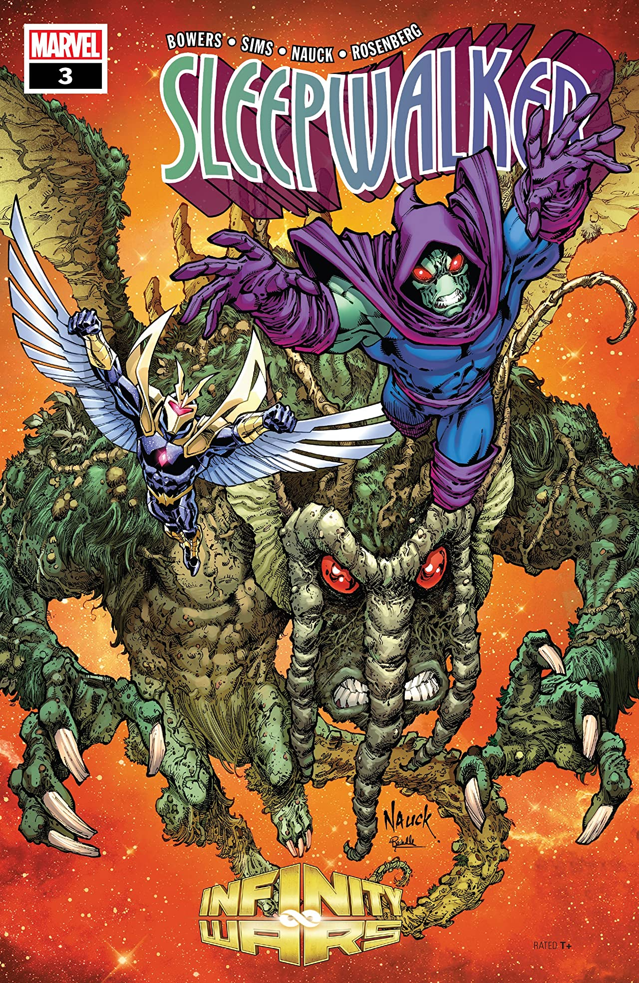 Infinity Wars: Sleepwalker (2018) No.3 (sur 4)