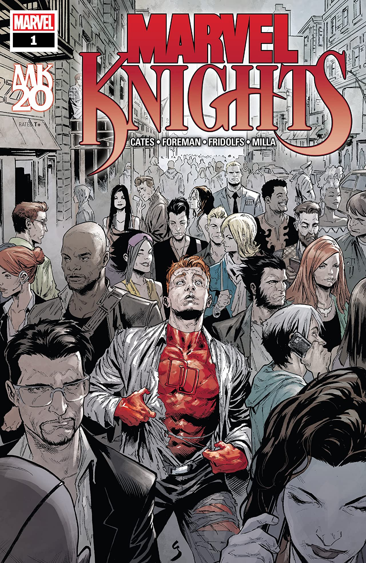 Marvel Knights: 20th (2018-) No.1 (sur 6)