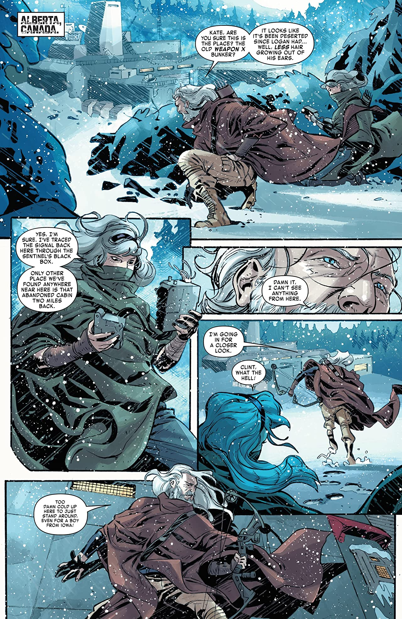 Old Man Hawkeye (2018) #11 (of 12)