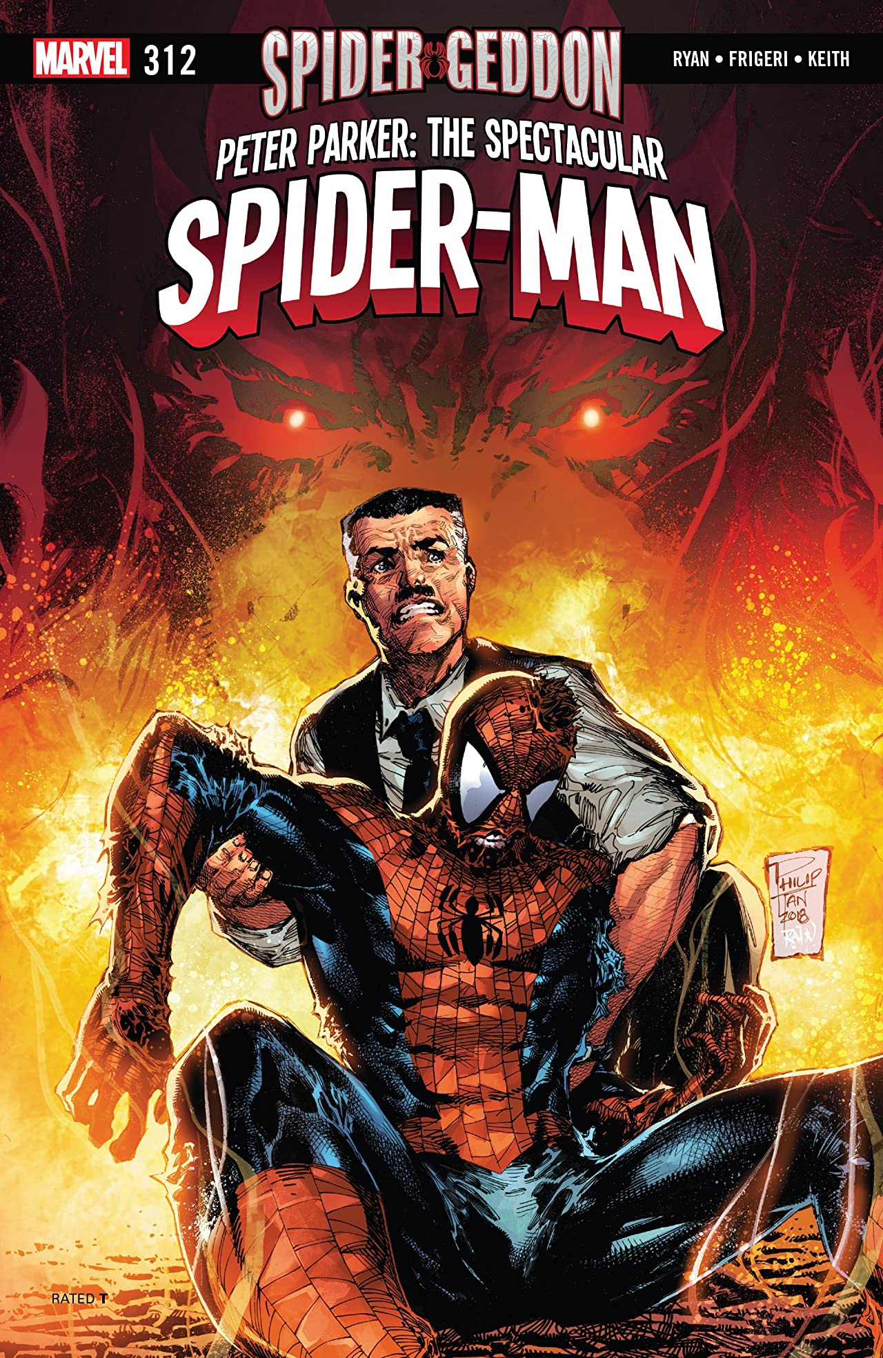 Peter Parker: The Spectacular Spider-Man (2017-) No.312