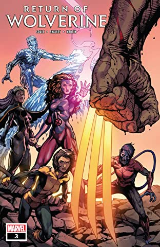 Return Of Wolverine (2018-) #3 (of 5)
