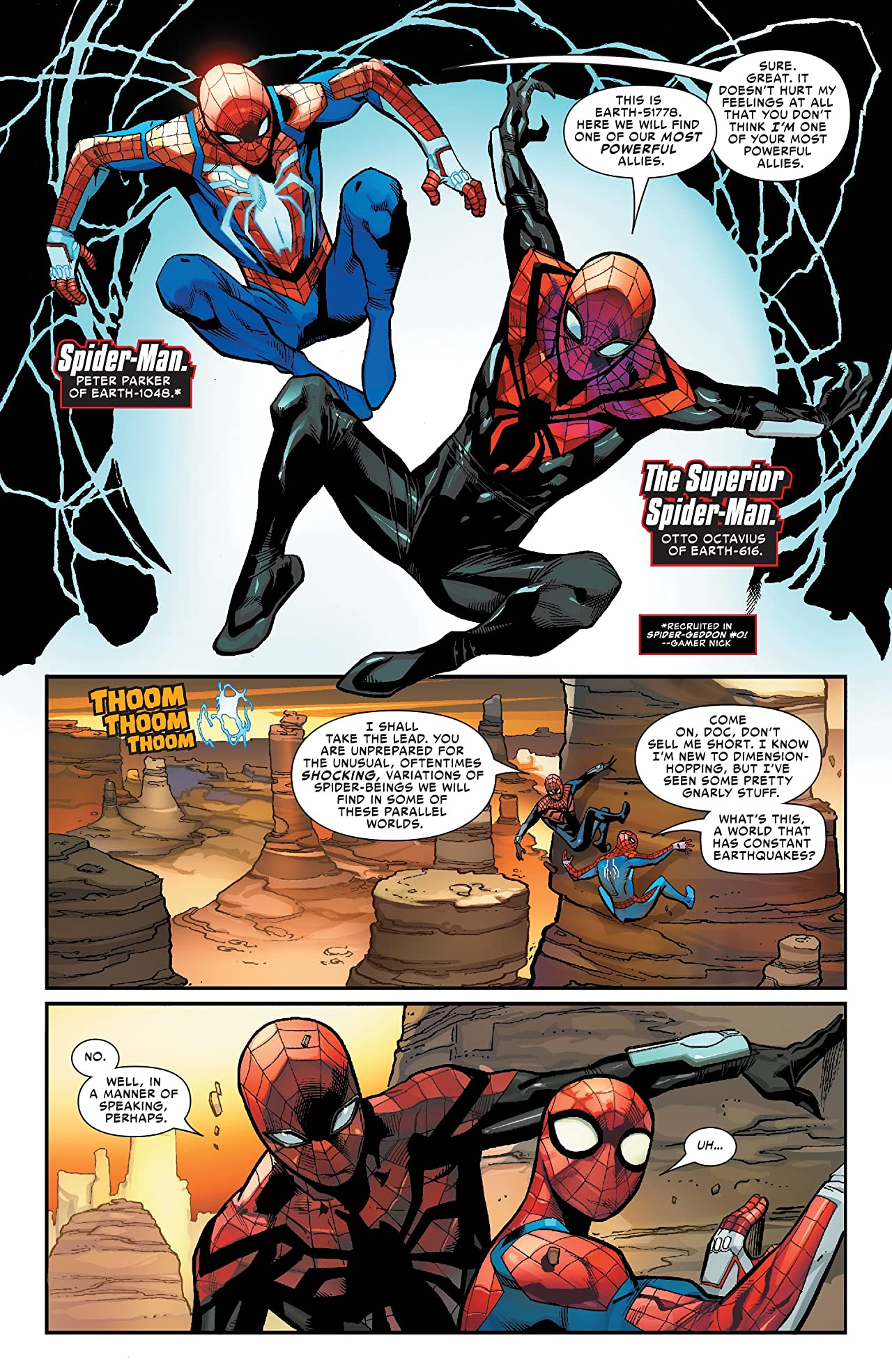 Spider-Geddon (2018-) #3 (of 5)