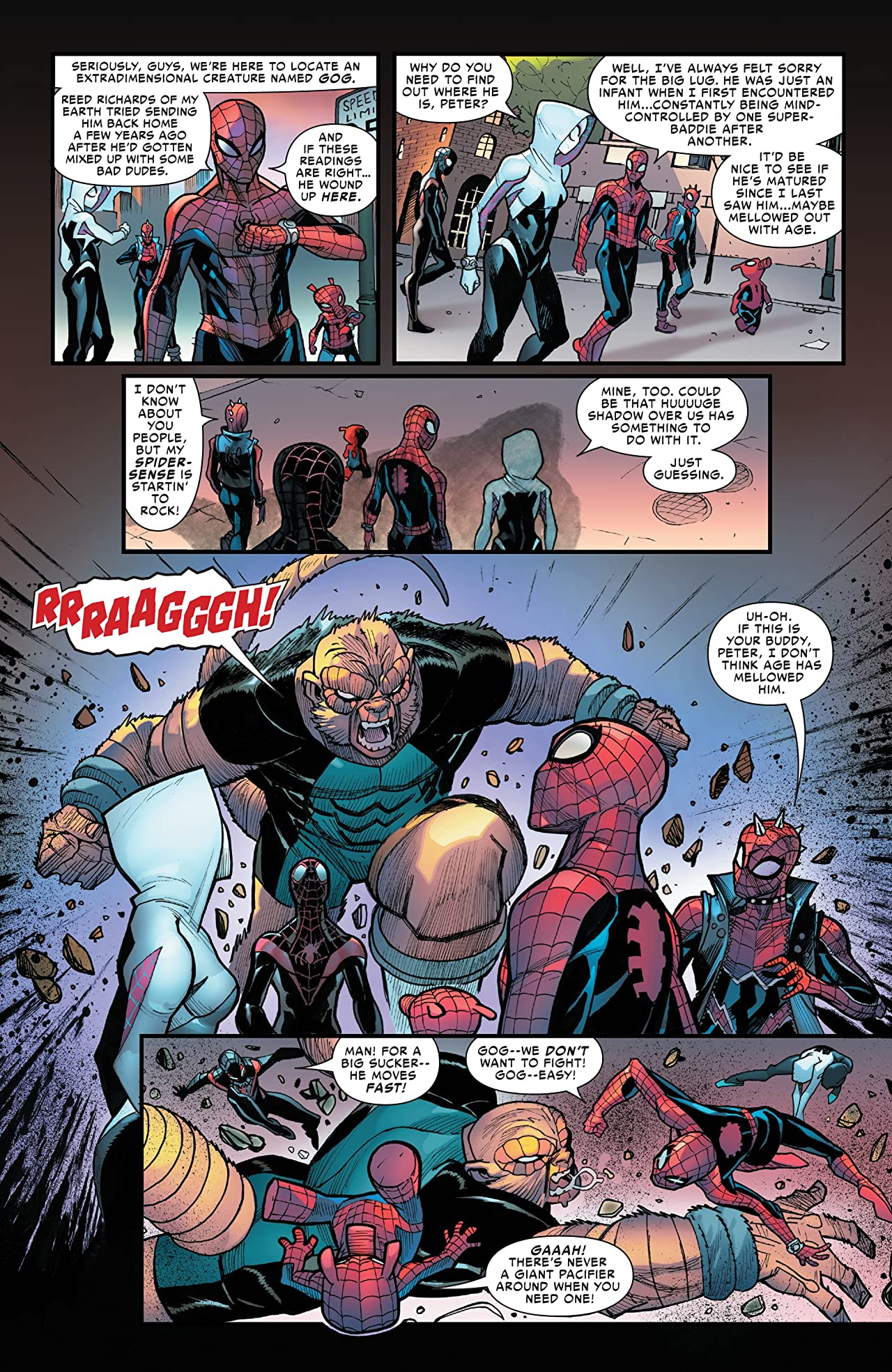 Spider-Man: Enter The Spider-Verse (2018) #1