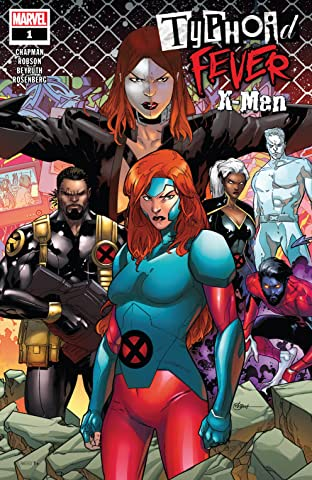Typhoid Fever: X-Men (2018) No.1