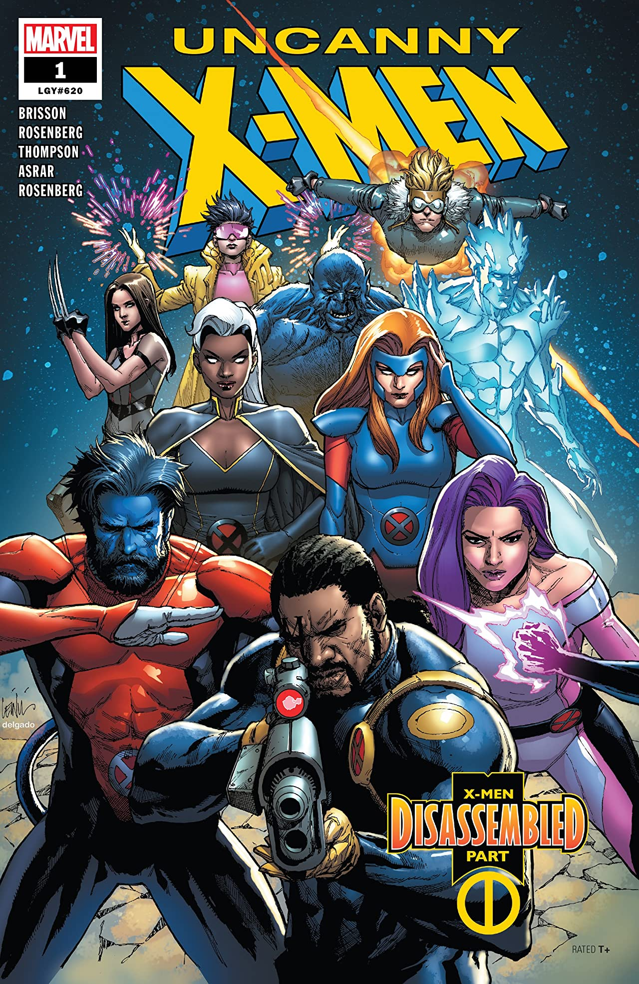 Uncanny X-Men (2018-) No.1: Director's Edition