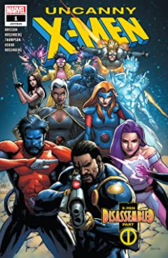 Uncanny X-Men (2018-2019) #1: Director's Edition