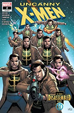 Uncanny X-Men (2018-2019) #2