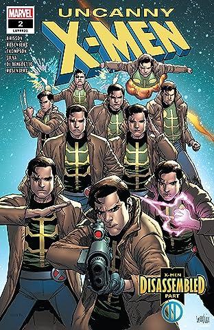 Uncanny X-Men (2018-2019) No.2