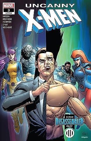 Uncanny X-Men (2018-2019) No.3