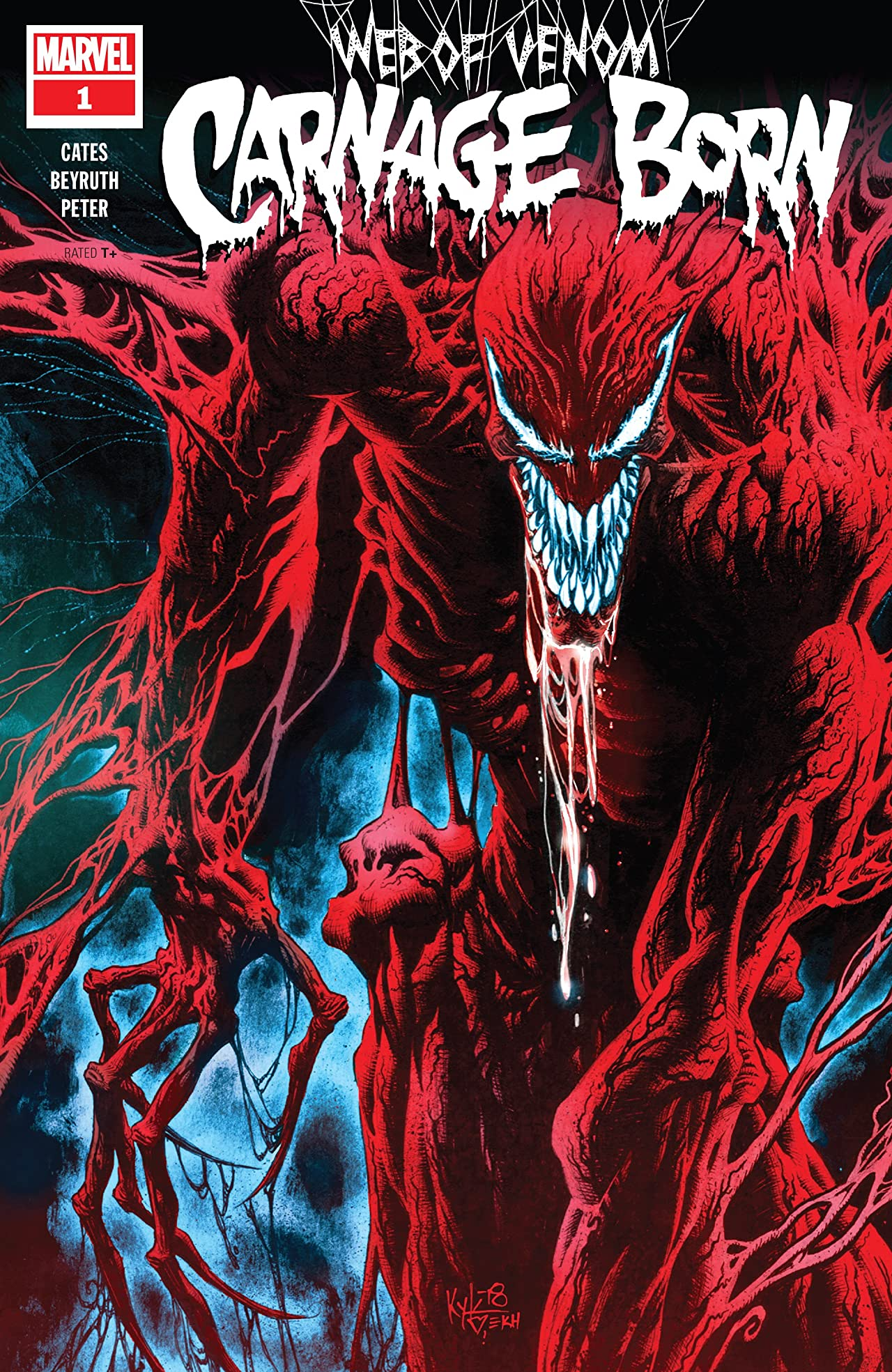 Web Of Venom: Carnage Born (2018) No.1