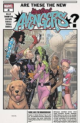 West Coast Avengers (2018-) #4