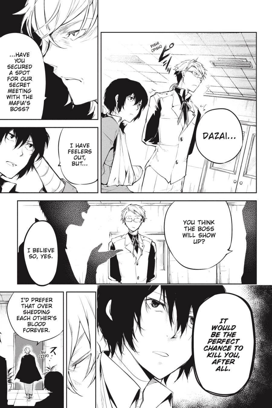 Bungo Stray Dogs Vol. 8