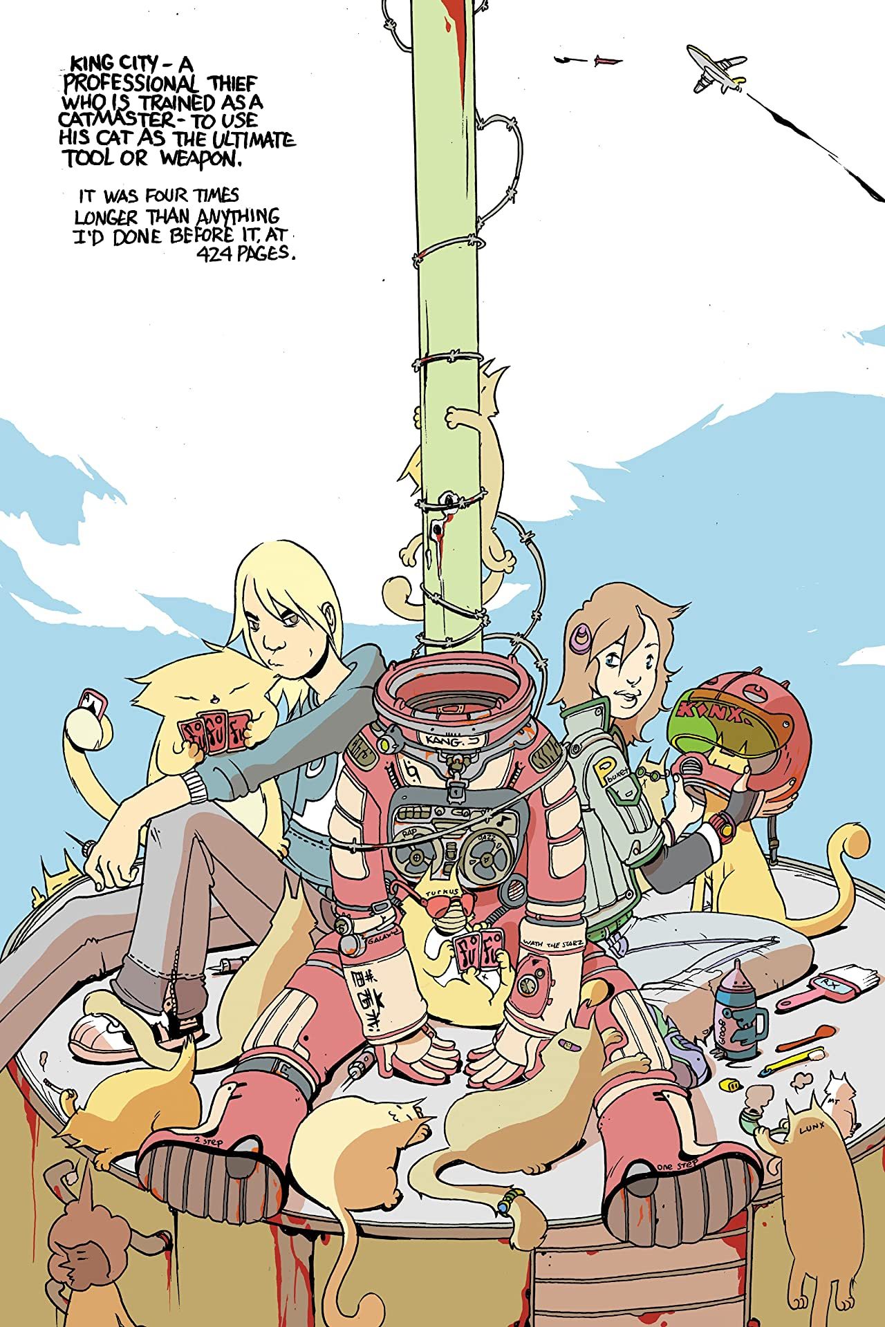 Royalboiler: Brandon Graham's Drawn Out Collection