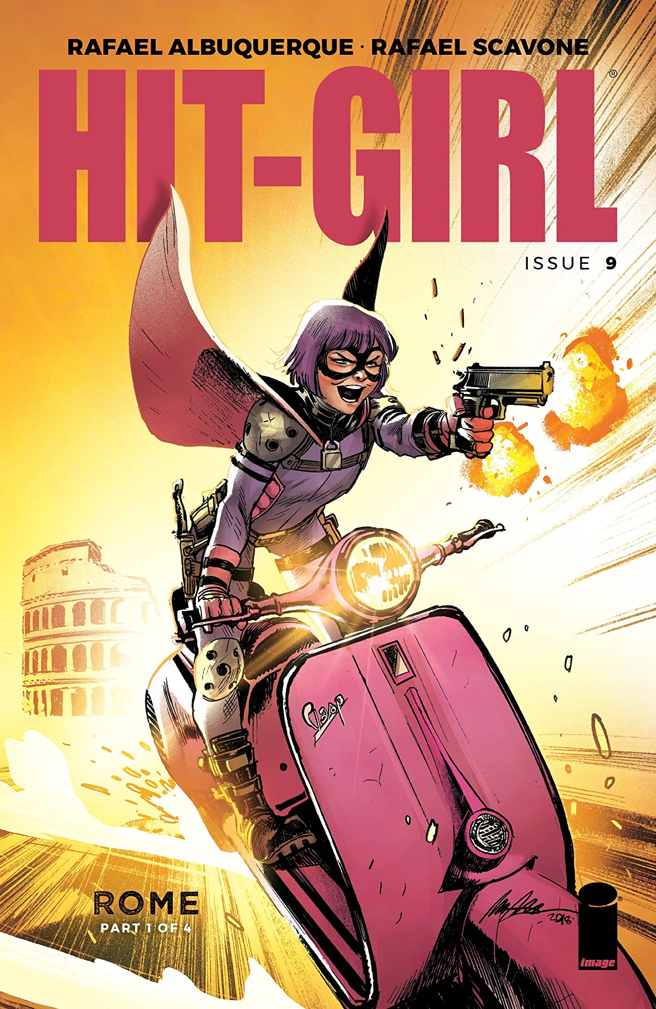 Hit-Girl No.9