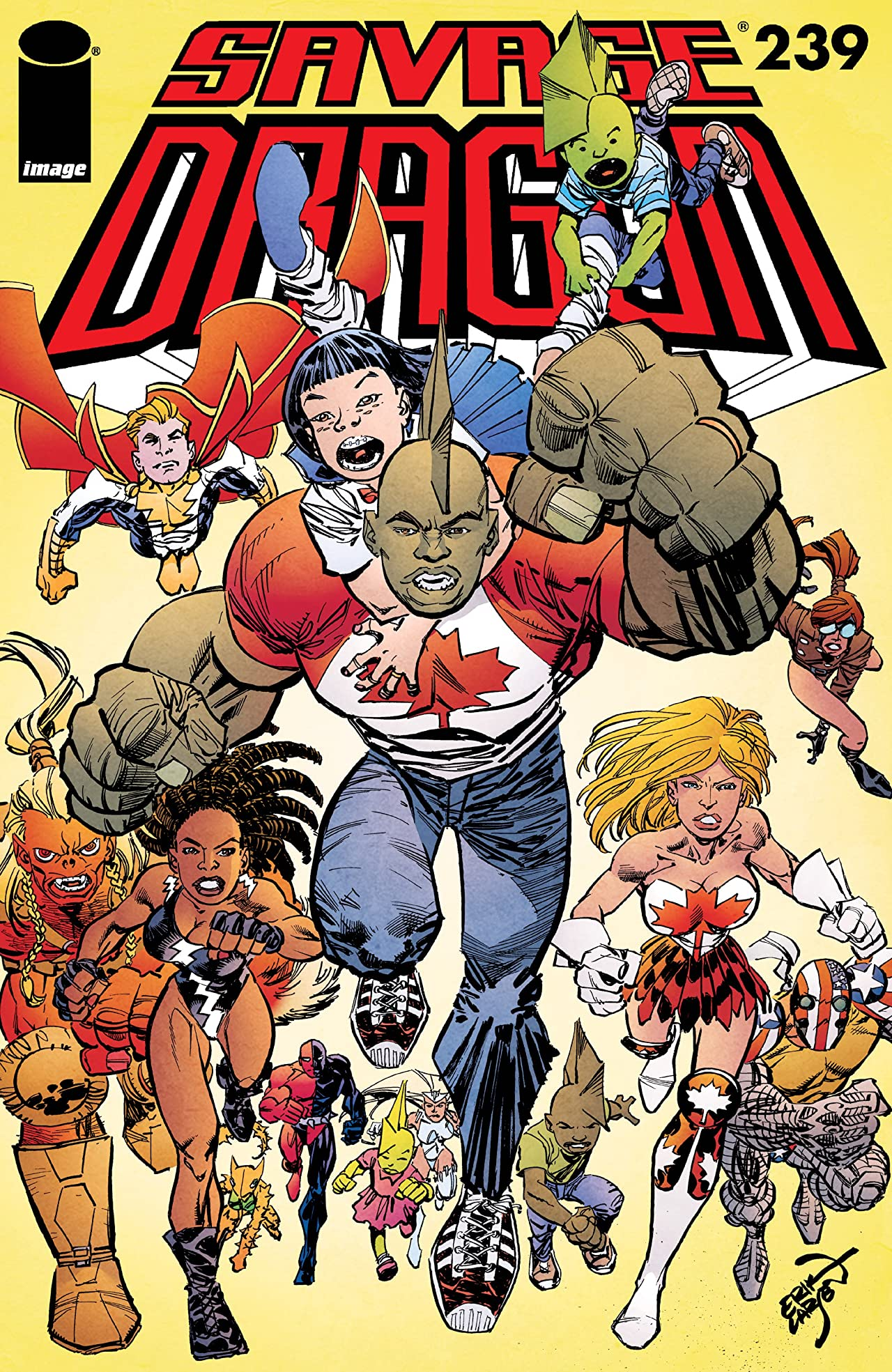 Savage Dragon No.239