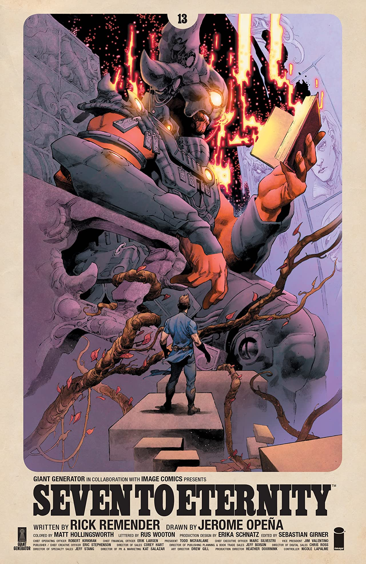 Seven to Eternity No.13