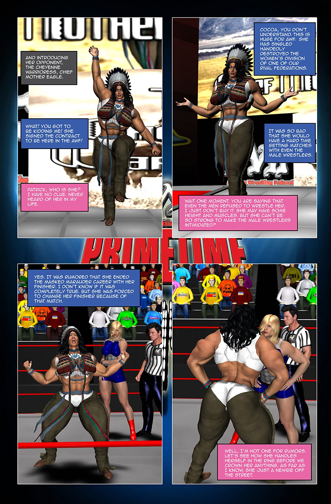 AWF: Primetime Saturday Night #3