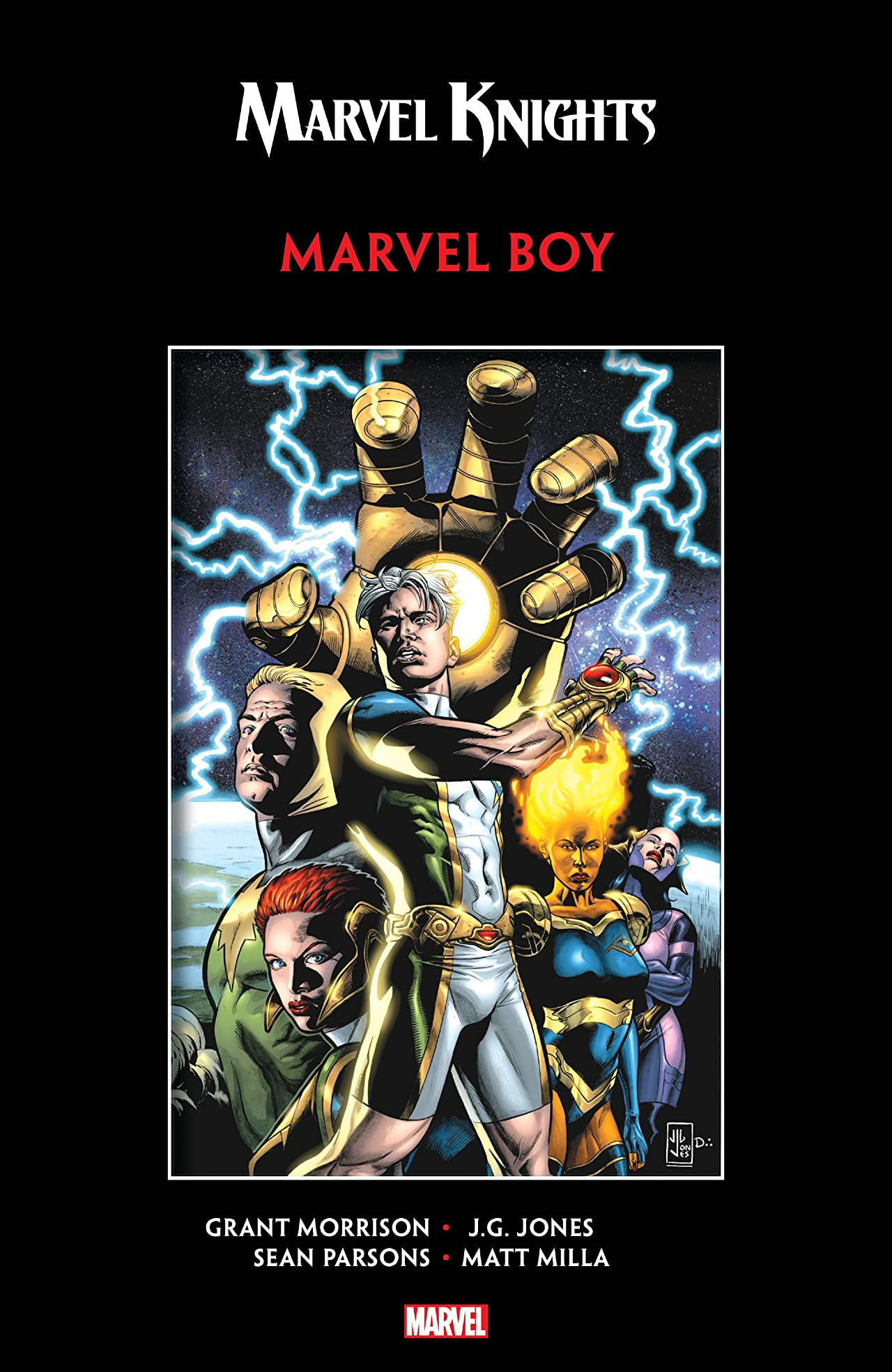 Marvel Knights Marvel Boy by Morrison & Jones