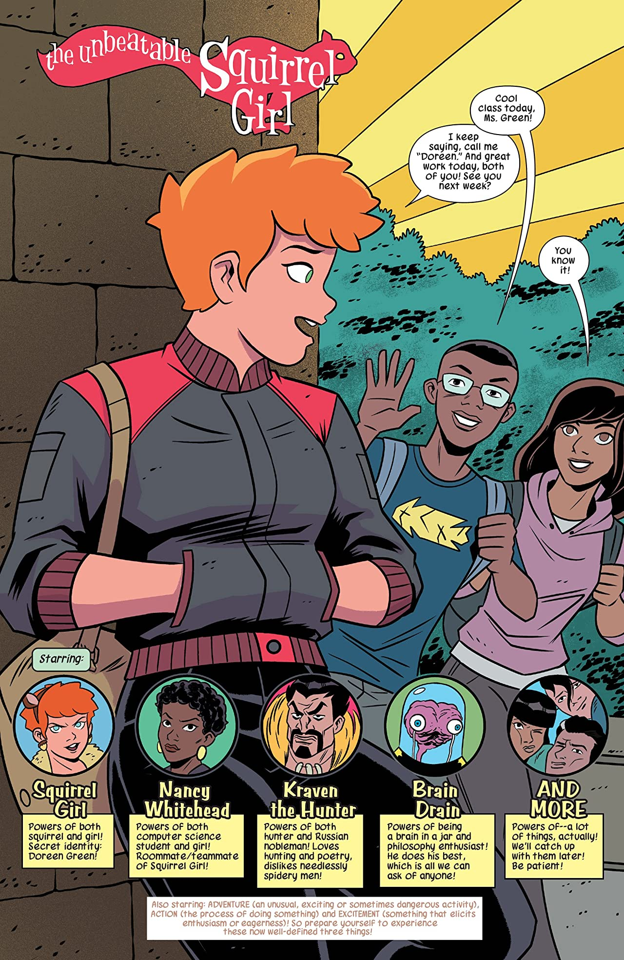 The Unbeatable Squirrel Girl Vol. 9: Squirrels Fall Like Dominoes